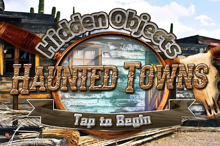 Hidden Objects Haunted Mystery Ghost Towns Puzzle 1.3 screenshot 1