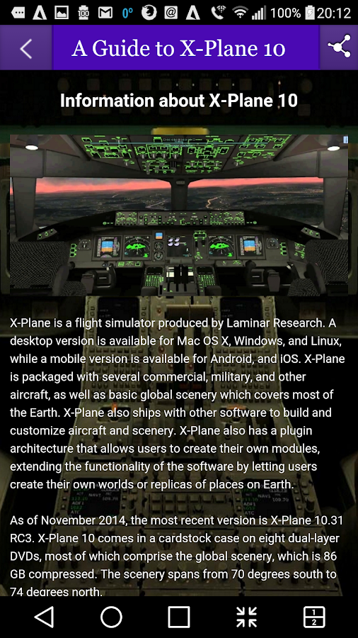 A Guide to X-Plane 10 1 0 APK Download - Android Tools Apps