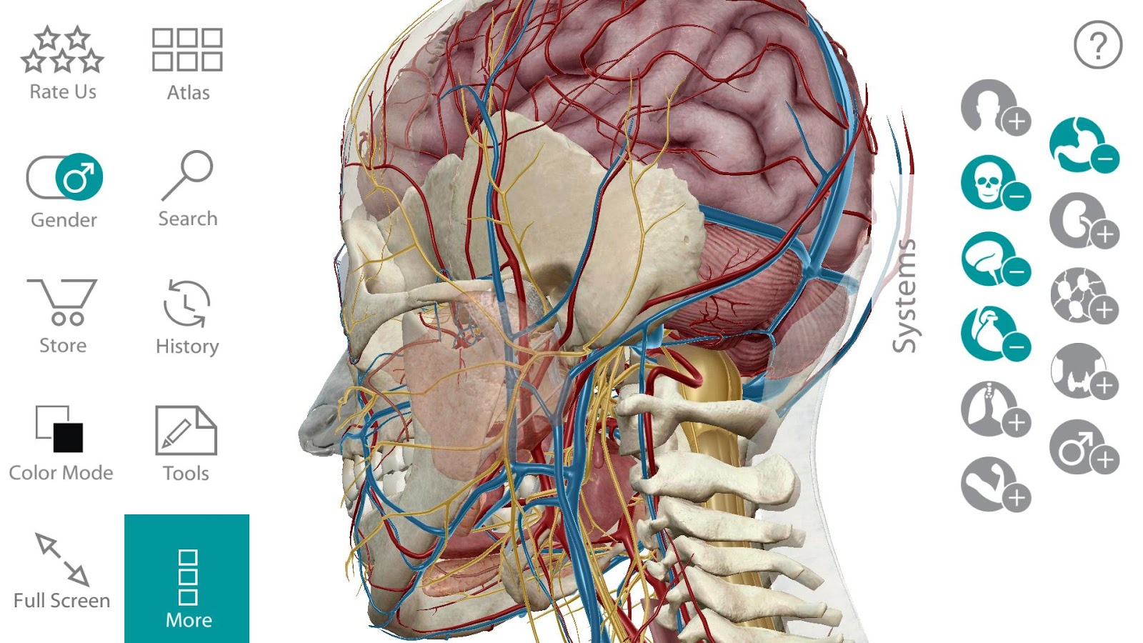 Human Anatomy Atlas 7.4.03 APK Download - Android Medical Apps