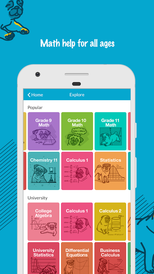 StudyPug Math Tutor—Algebra, Calculus, Statistics 1 1 4 APK Download