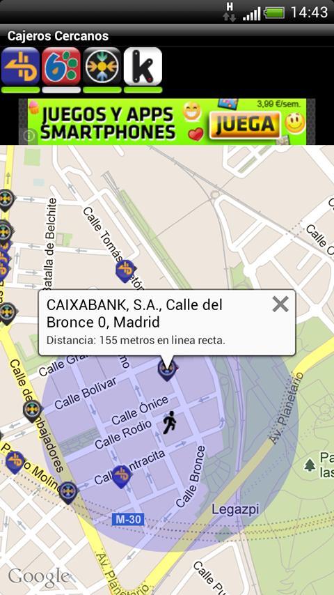 Cajeros cercanos espa a 2 0 2 apk download android for Cajeros link cercanos