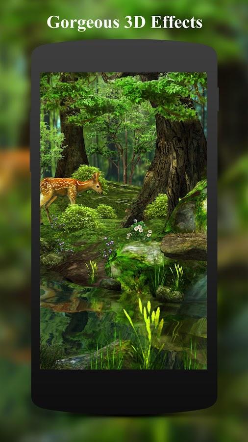 3D Deer-Nature Live Wallpaper 1.6.8 APK