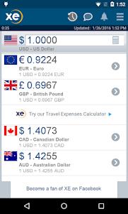 XE Currency  screenshot 1