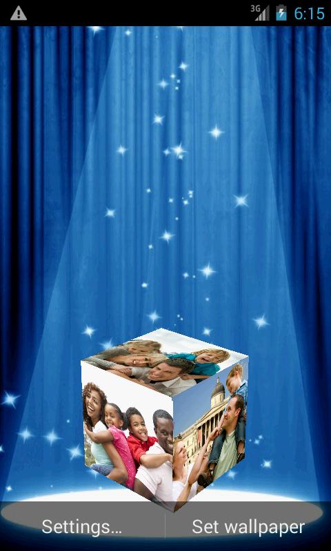 3D Gallery Live Wallpaper 13 Screenshot 8