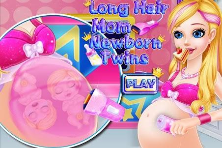 Long Hair Mom Newborn Twins 1.0.0 screenshot 2