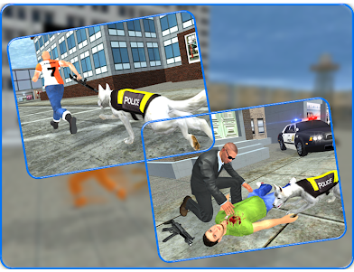 LA Police Dog Crime Patrol : Thief Chase Mission 1.1 screenshot 9