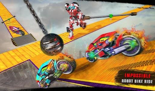 Impossible Moto Bike Tracks Robot Transformation 1.0 screenshot 14