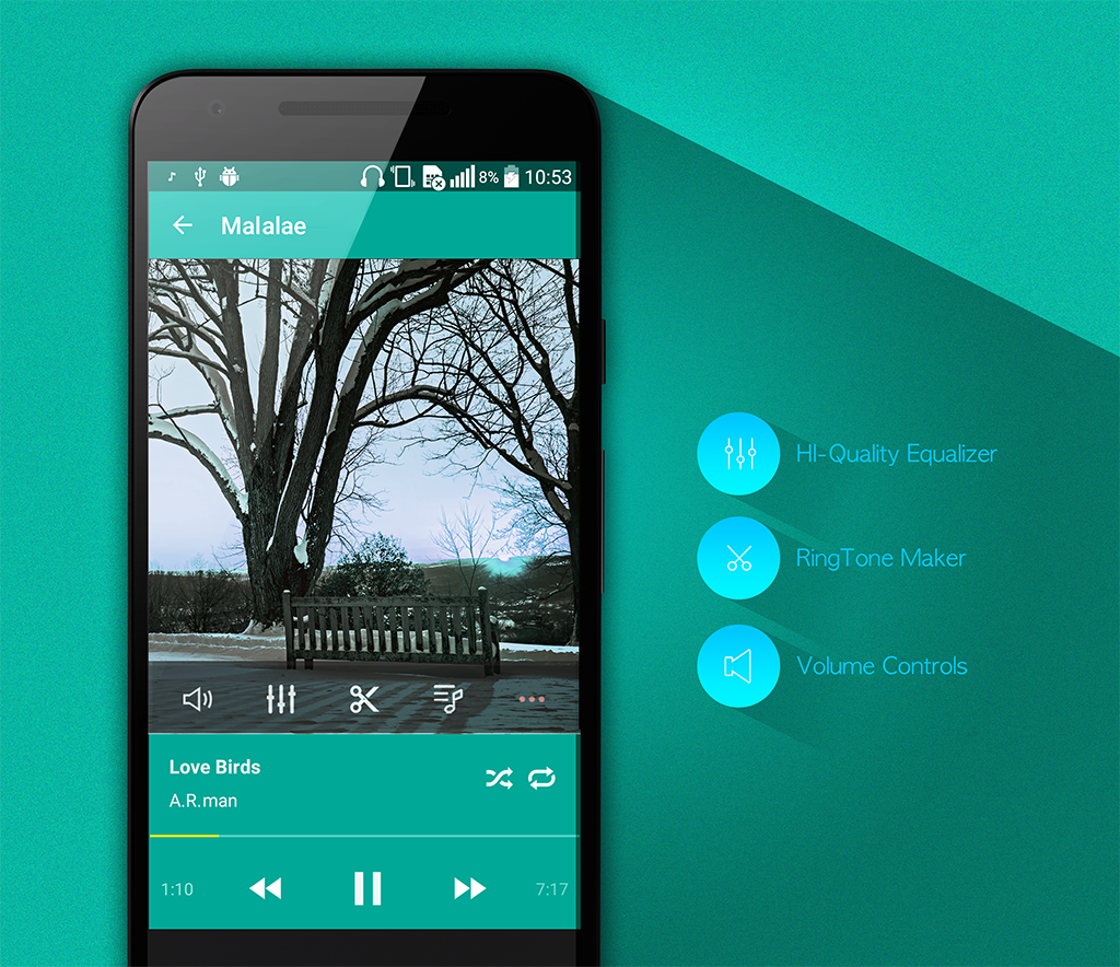 mp3songs mp3player mp3cutter ringtonemaker APK Download - Android
