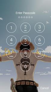 Luffy Monkey D.(モンキー・D・ルフィ) Fan Anime Lock Screen 1.3 screenshot 5