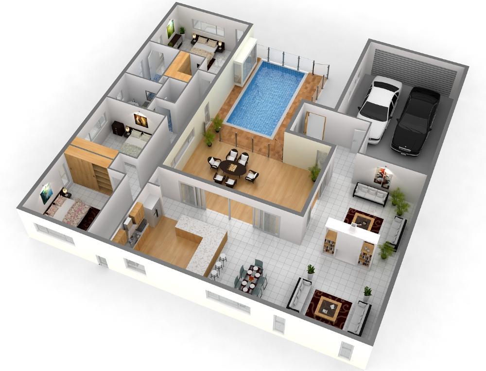 Best 3D Home Plan 30 Screenshot 2