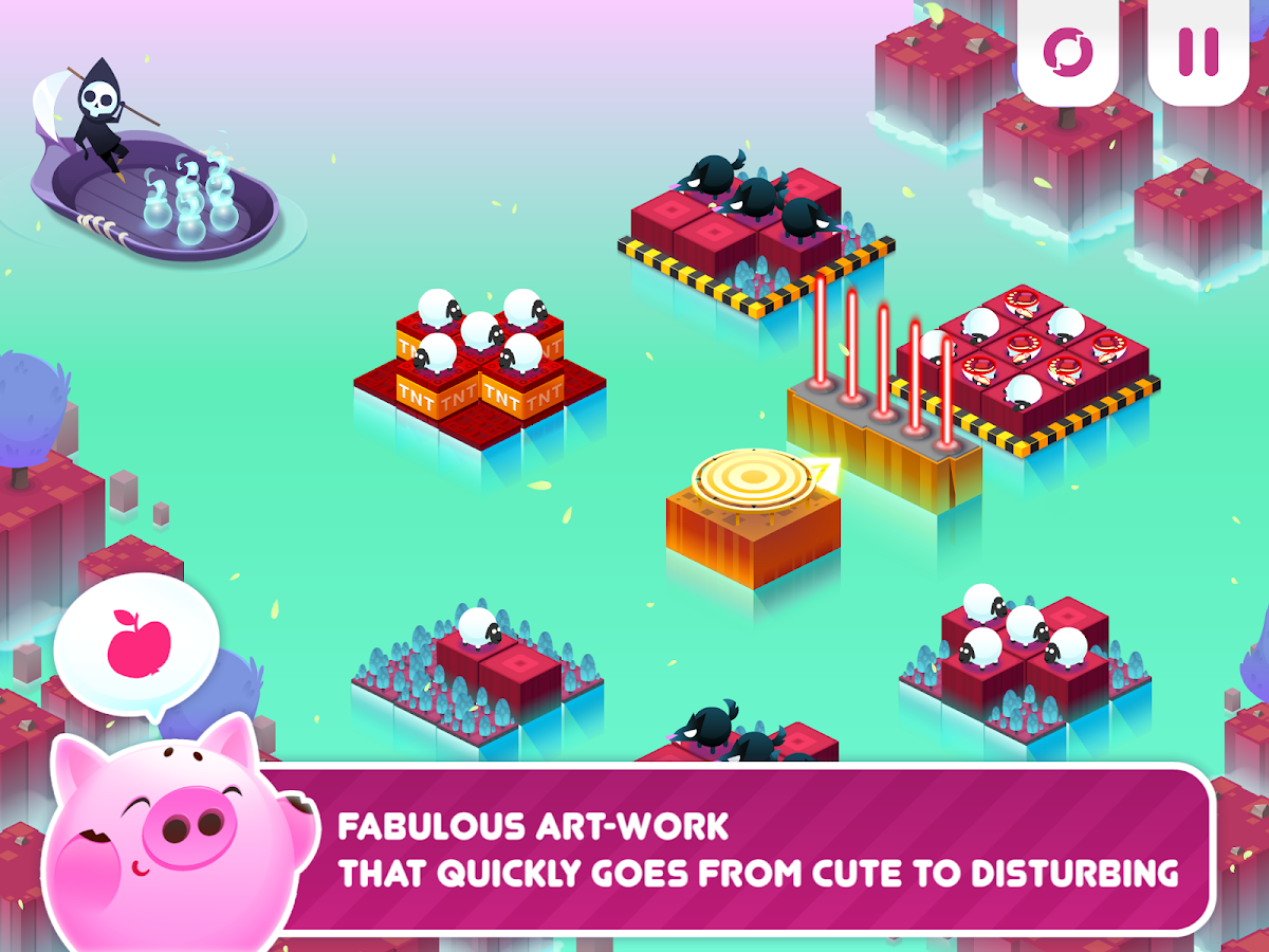 Divide By Sheep - Math Puzzle 1.201 APK Download - Android Puzzle Games