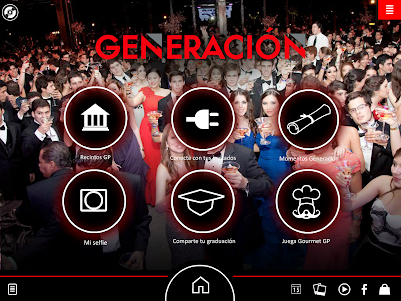 (tablet) Nuestra graduación GP 1.1.0 screenshot 1