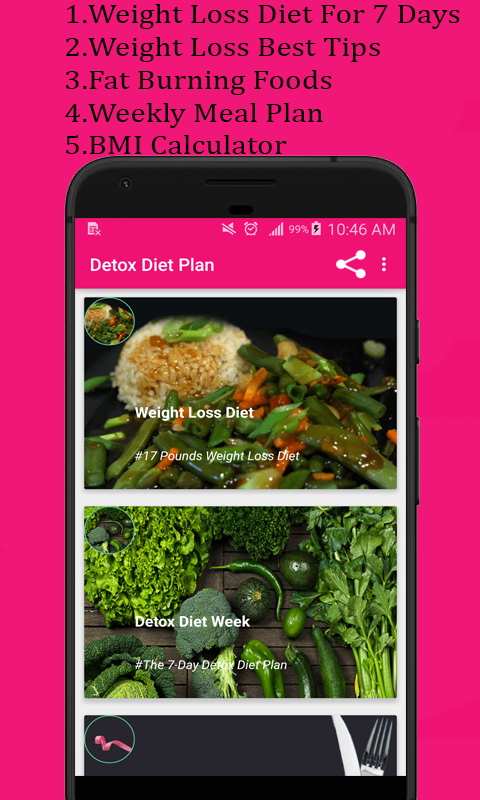 Detox diet plan:Lose fat fast in 7 days 6 47 r5 APK Download
