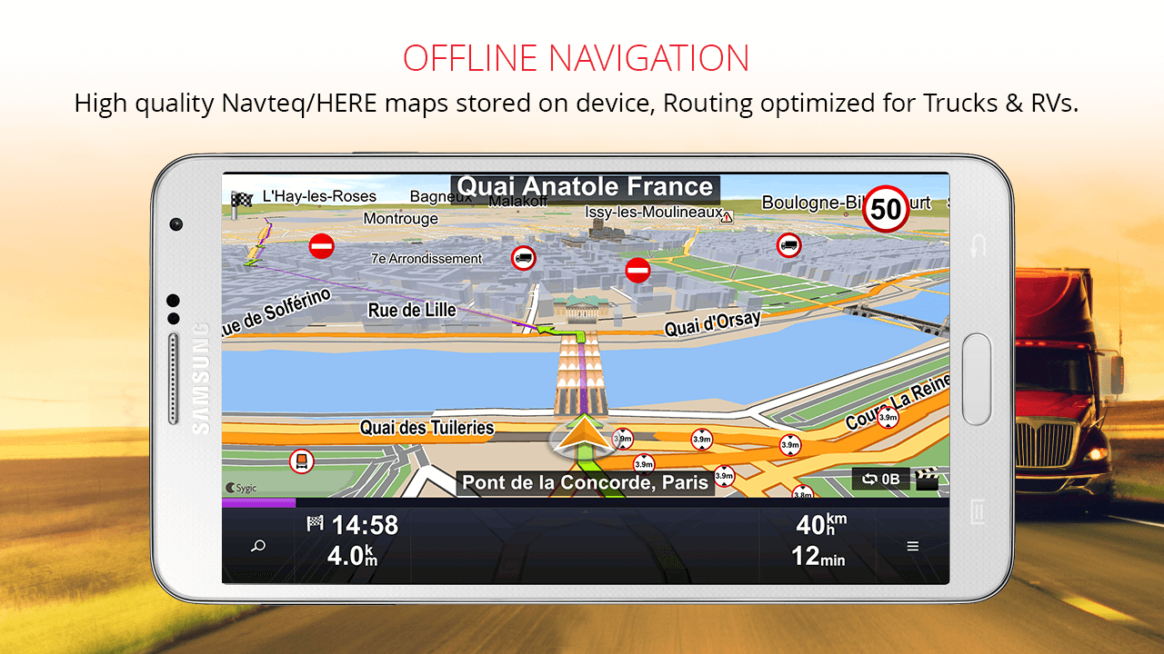 Sygic Truck GPS Navigation 13.9.1 APK Download - Android Travel ...
