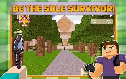 Cube Gun Survival Games C10.1 screenshot 5