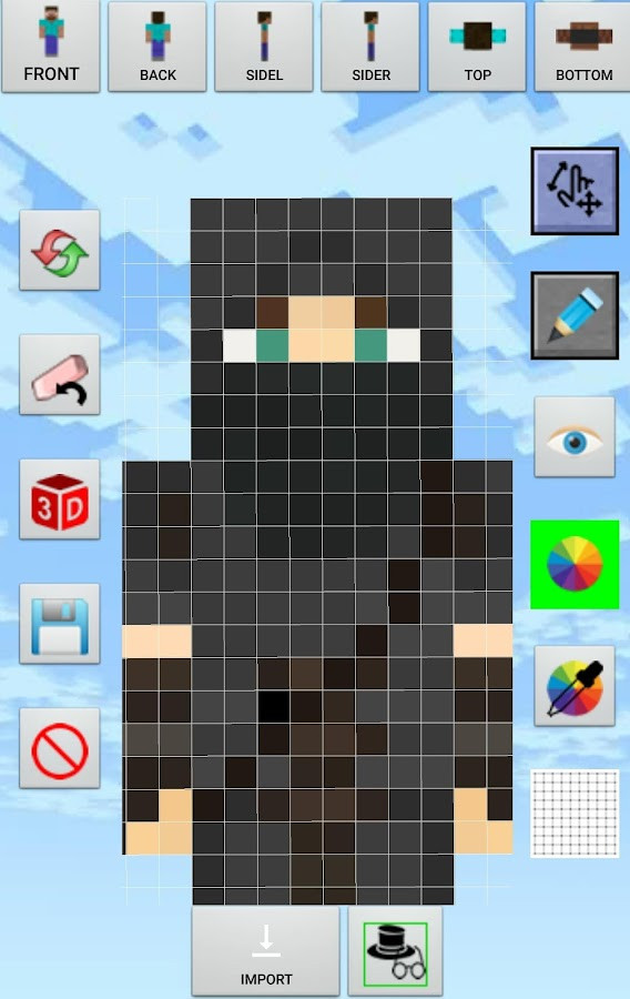 Custom Skin Creator Minecraft APK Download Android Entertainment Apps - Skin para minecraft pe de messi