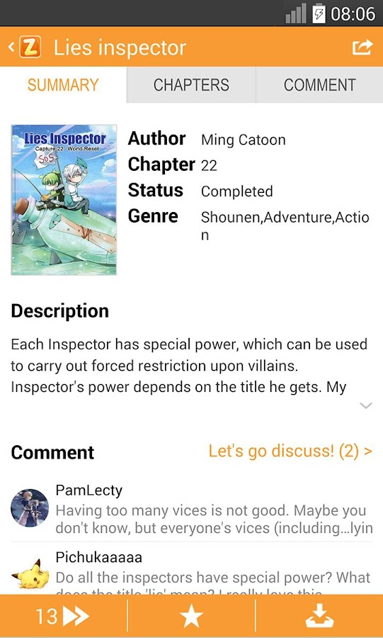 ZingBox Manga (Int'l) 5 0 5 7 APK Download - Android Comics Apps