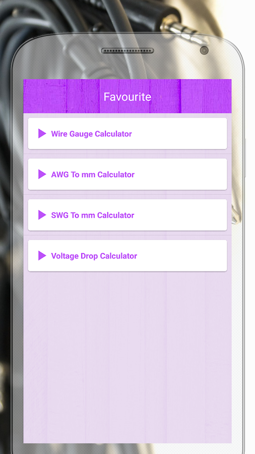 Electric wire calculator 13 apk download android education apps electric wire calculator 13 screenshot 4 keyboard keysfo Image collections