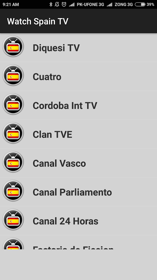 Spanish TV - Watch Spanish TV All Channels Free ! 1 0 APK Download