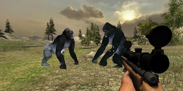 Gorilla Hunter Simulator 2015 1.9 screenshot 3