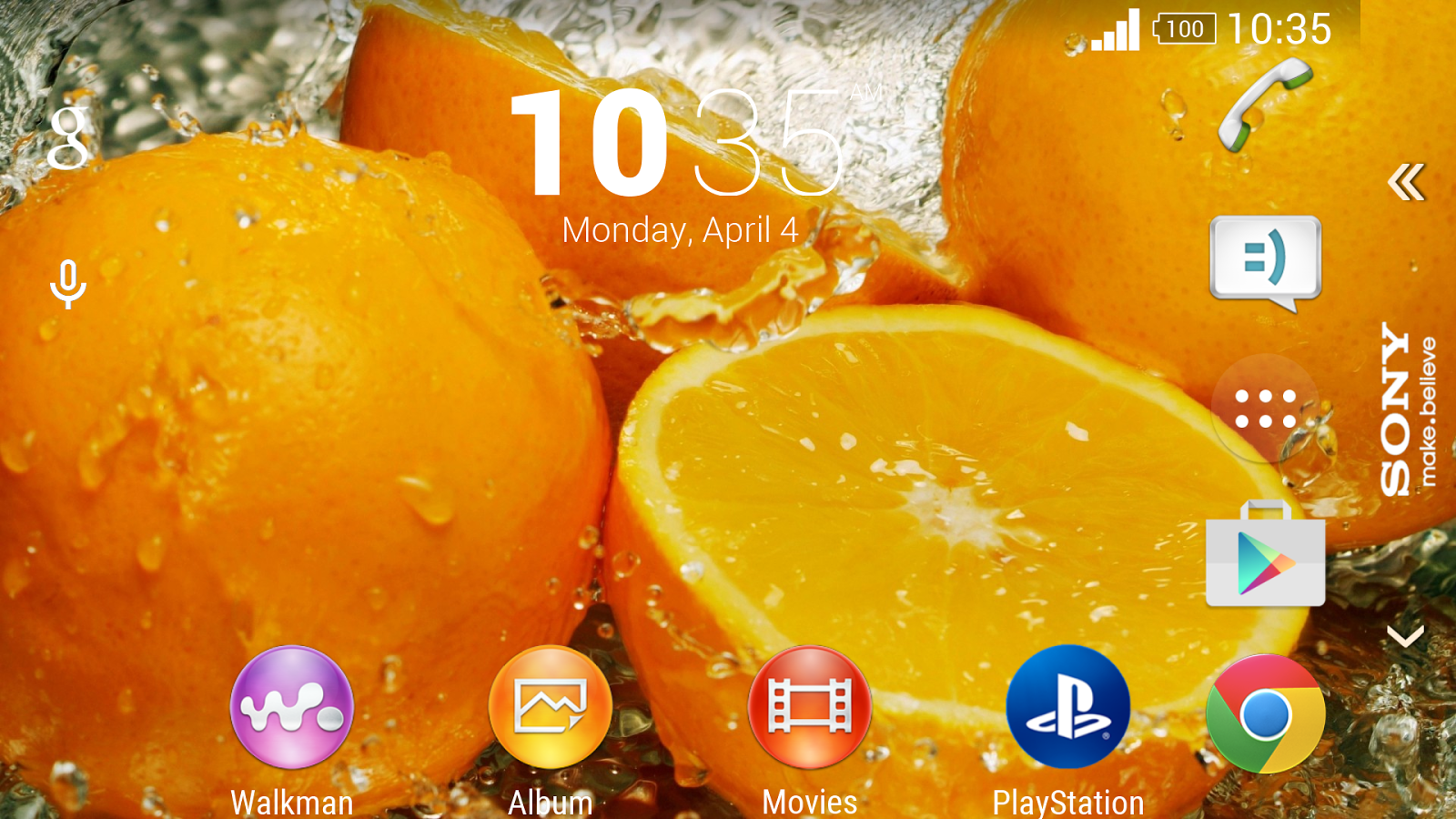 Xperia Z5 Premium Orange Theme 1 0 0 APK Download - Android