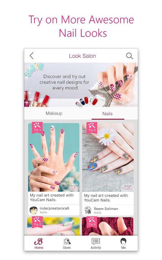 Youcam Nails Manicure Salon For Custom Nail Art Apk Download