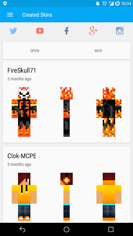 Skin Editor For Minecraft PE Beta APK Download Android Tools Apps - Descargar skins para minecraft pe uptodown