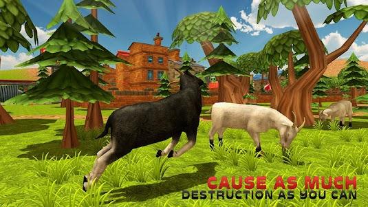 Goat Simulator City Rampage 3D 1.0.2 screenshot 3