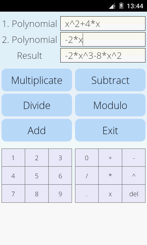 Polynomial Calculator 2 9 APK Download - Android Education Apps