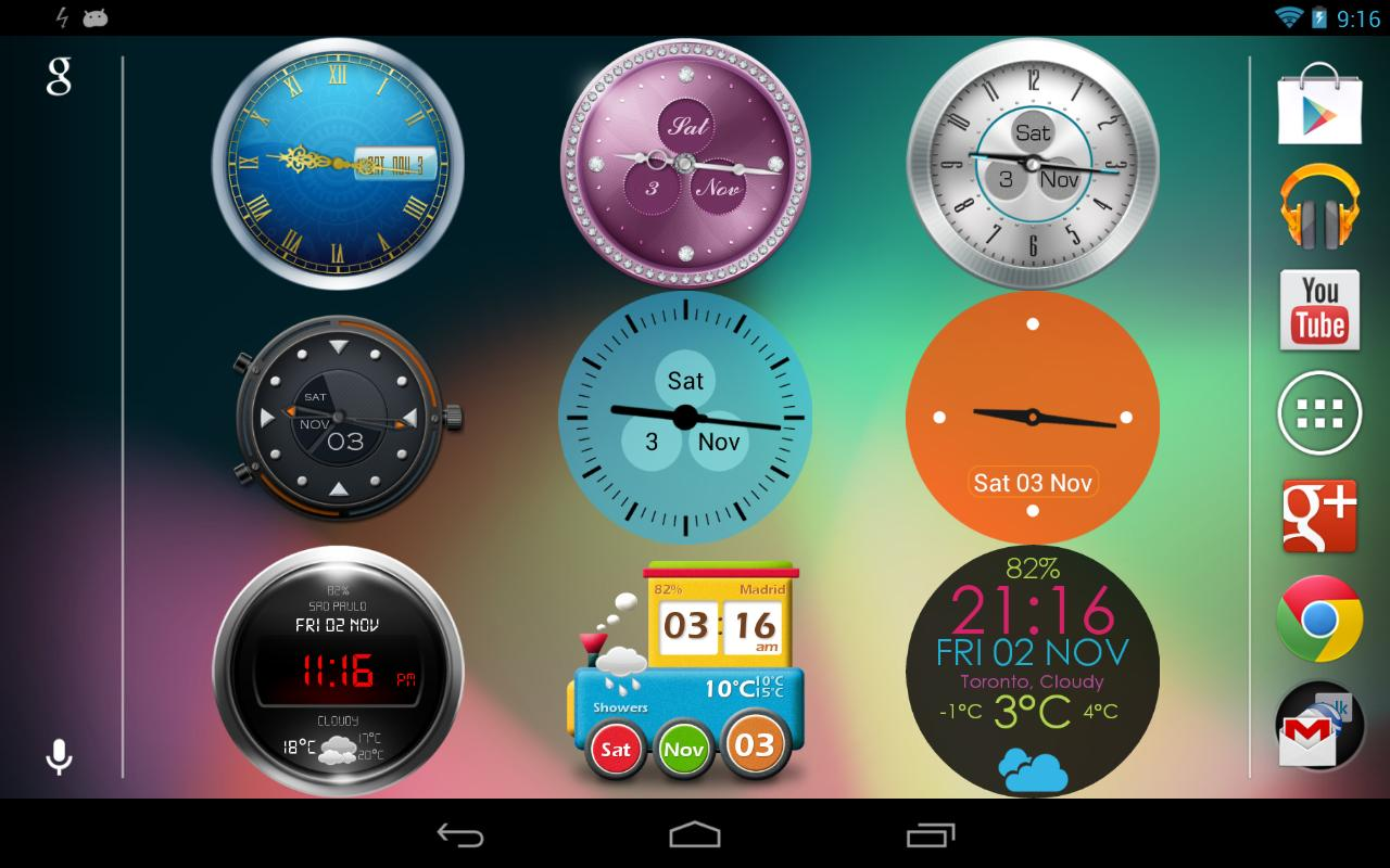 Beautiful Clock Widget Pro 2 0 APK Download - Android Lifestyle Apps