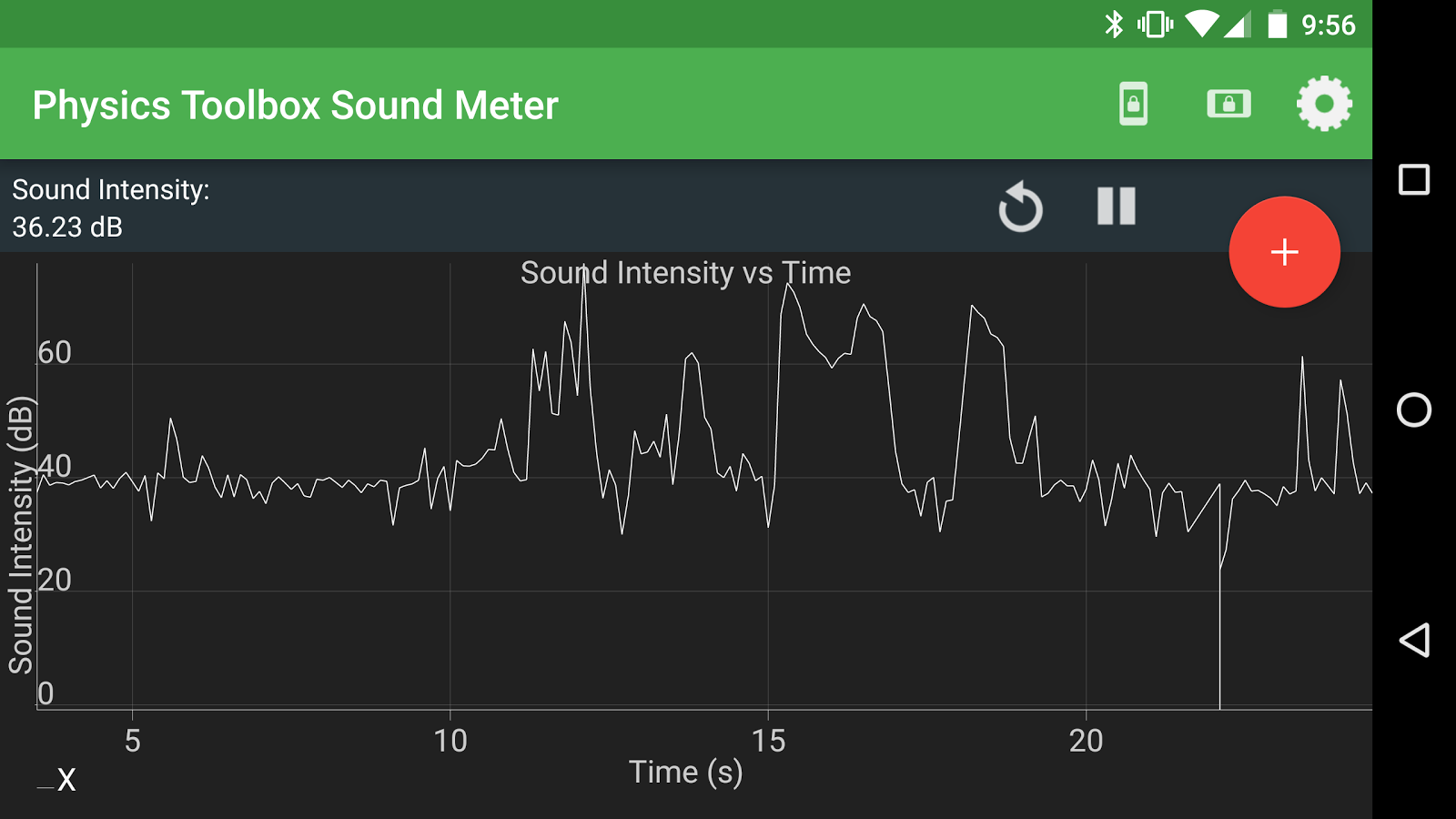 Physics Toolbox Sound Meter 1 4 3 APK Download - Android