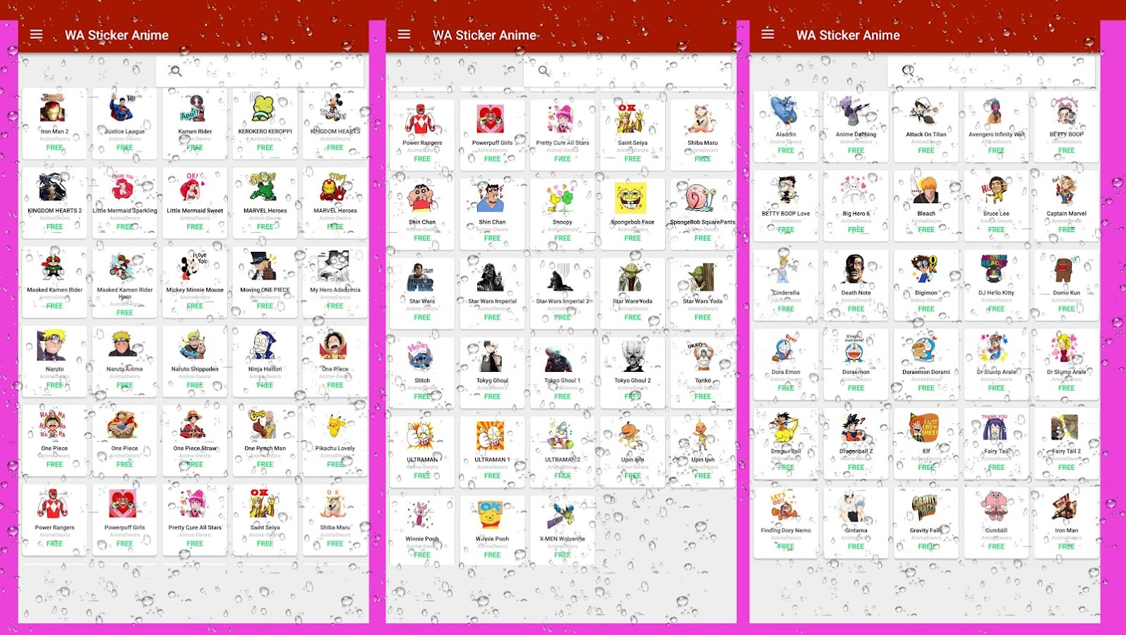 Wastickerapps Anime Sticker Wasticker For Whatsapp 1 5 Apk