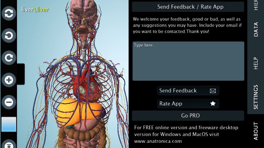 Female Anatomy 3d Anatronica 207 Apk Download Android Medical Apps
