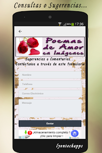Poemas de Amor en Imagenes 1.01 screenshot 15