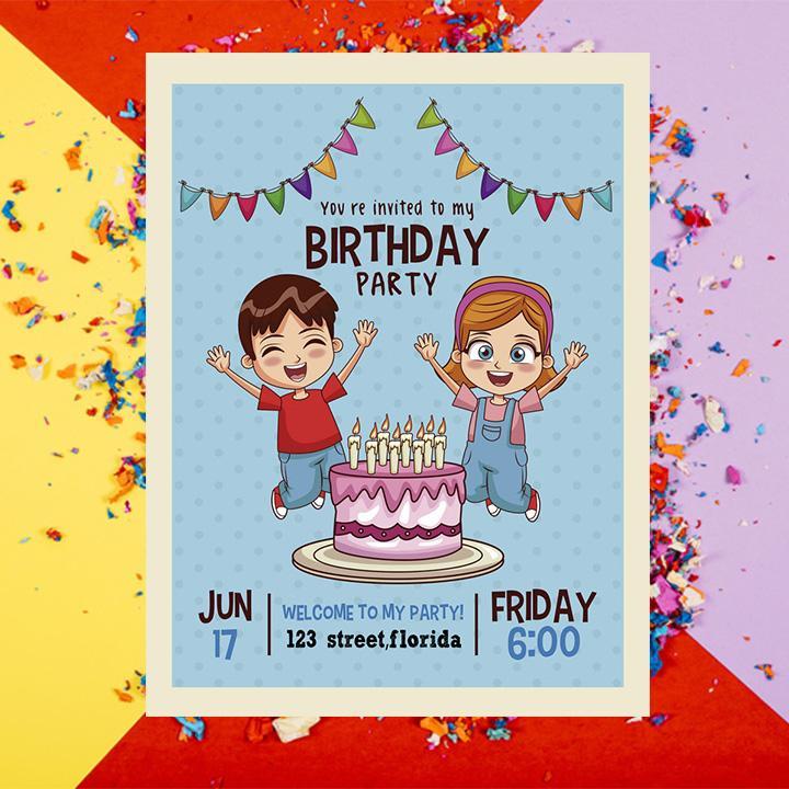 Birthday Invitation Card Maker 1 00 45 Apk Download