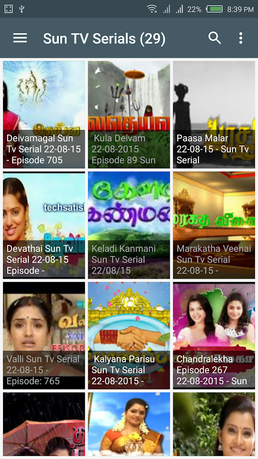 Tamil TV Serials   Shows, News 2 0 APK Download - Android