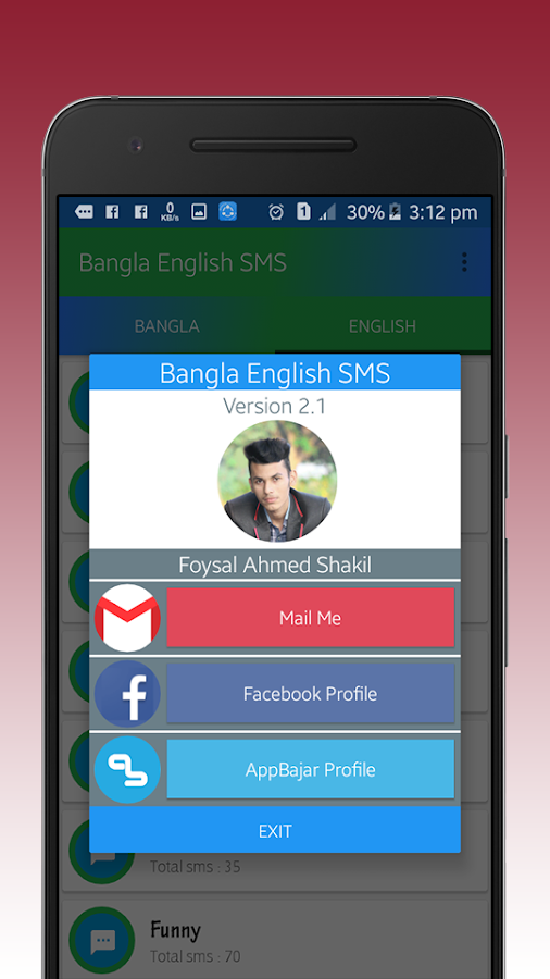 10000+Bangla SMS | English SMS 2 1 APK Download - Android Books