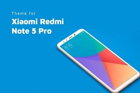 Theme for Xiaomi Redmi Note 5 Pro 1.0.1 screenshot 1