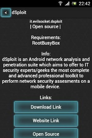 PenTest Tools List 1 1 APK Download - Android Tools Apps
