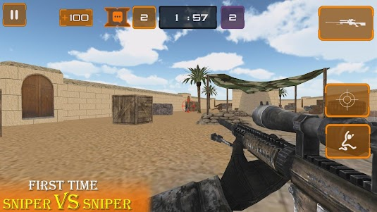 Sniper Vs Sniper Multiplayer 1.0 screenshot 1