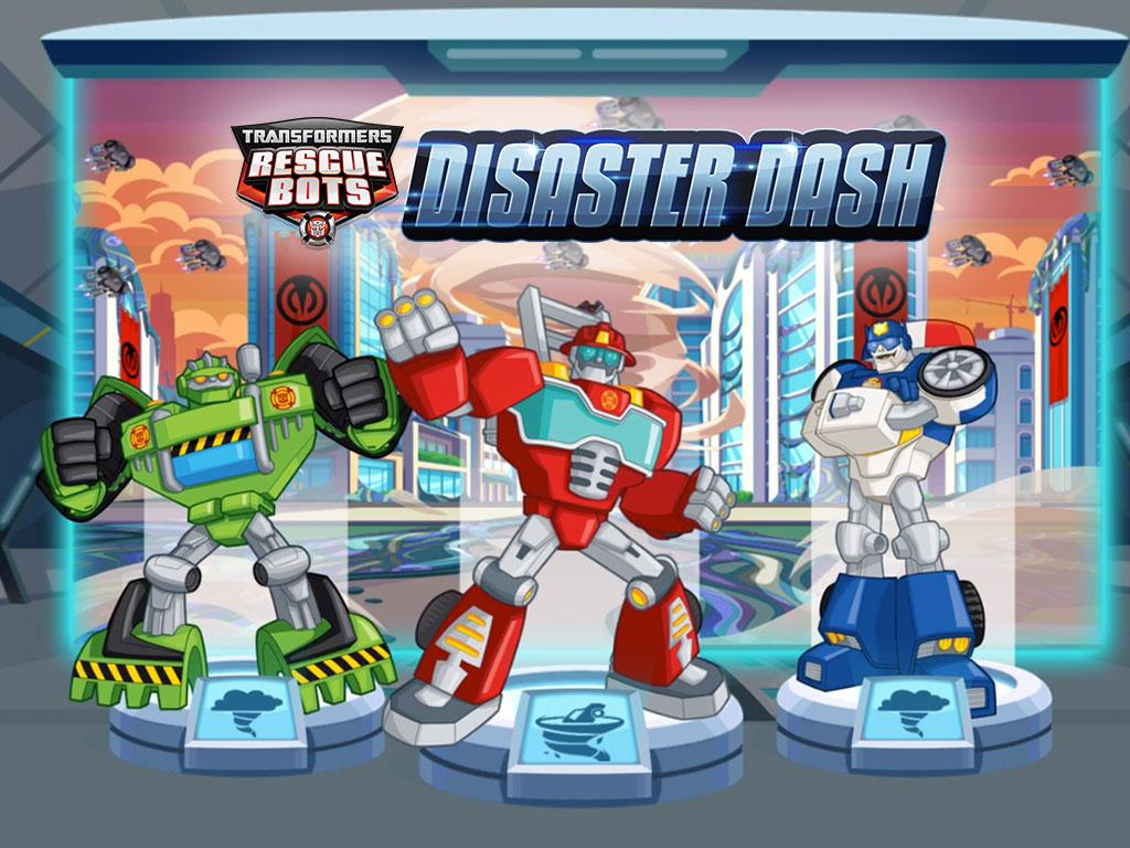 Transformers Rescue Bots: Disaster Dash 1 3 APK + OBB (Data