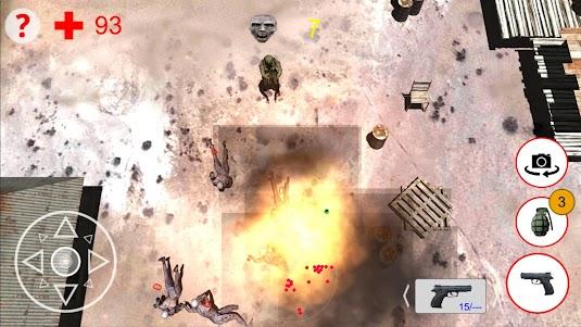 Shooting Zombies Free Game 1.0 screenshot 2