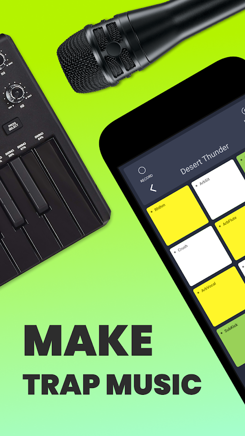 Trap Drum Pads 24 - Make Beats & Music 2 5 2 APK Download