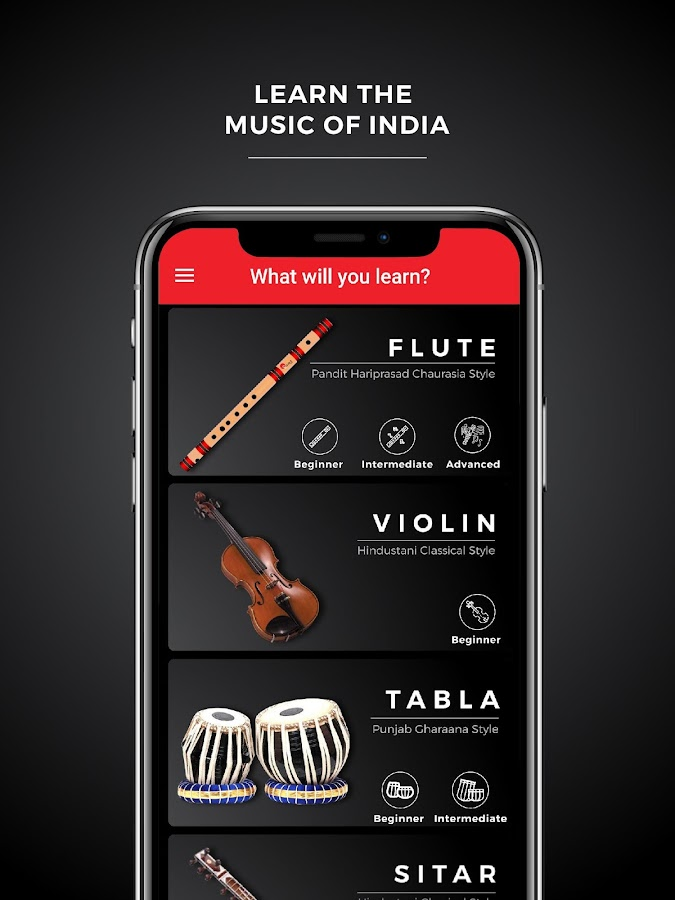 myGurukul - Learn Flute, Violin, Tabla & Sitar 3 0 42 7483