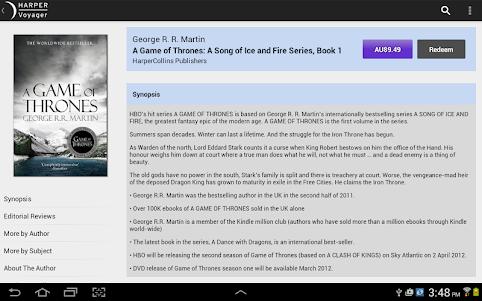 VoyagerBooks: Fantasy & Sci Fi 1.39.832 screenshot 8