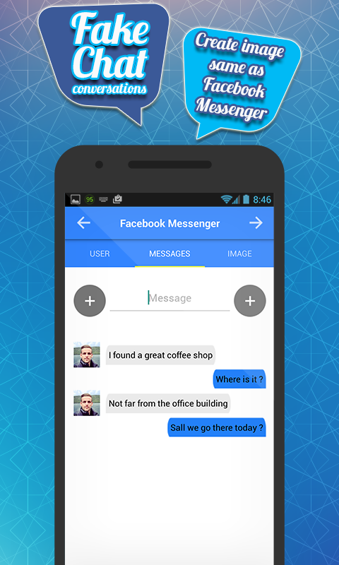 Fake Chat for fb Messenger 1 0 APK Download - Android