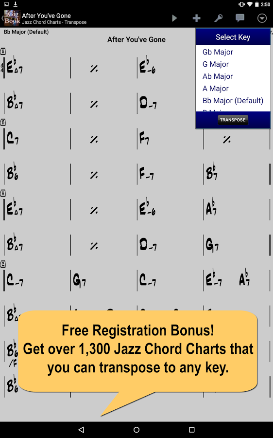 iGigBook Sheet Music Manager 4 7 2A APK Download - Android