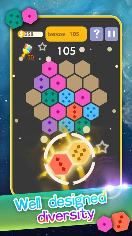 Hexa Block Puzzle - Starry Night Hexagon Mania 1 10202 APK Download