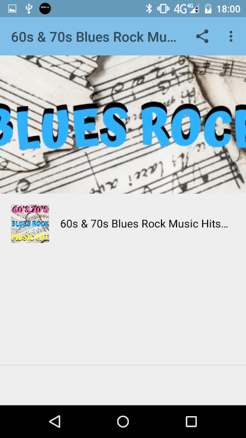 60's & 70's Blues Rock Music Hit Songs 1 0 APK Download
