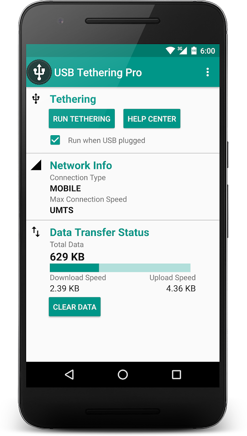 USB Tethering Pro 2 2 0 APK Download - Android Communication Apps